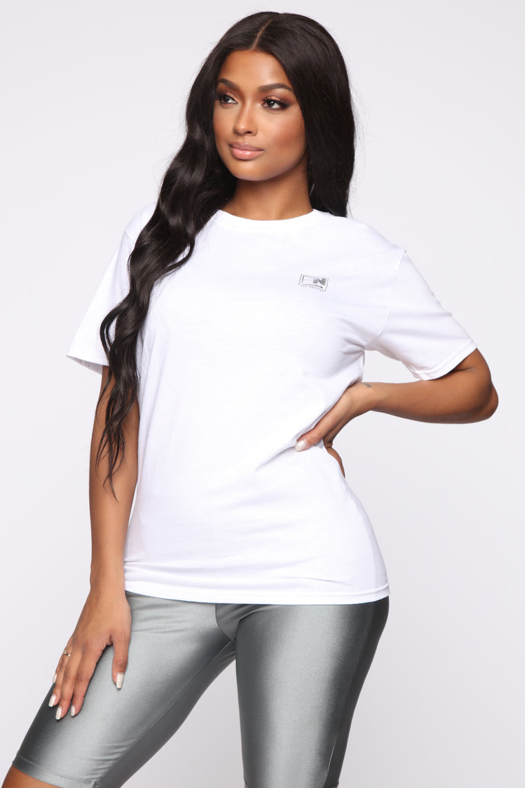 FN Exclusive Tee - White/Silver