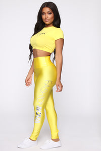 FN Exclusive Baby Tee - Yellow Angle 5