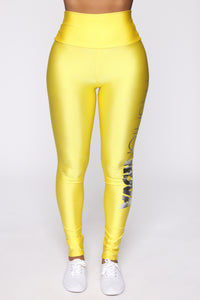 FN Exclusive Legging - Yellow