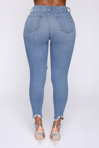 Well Played Jeans - Medium Blue Wash Angle 7