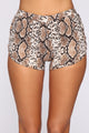 Rawr To Find Shorts - Snakeskin