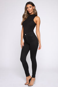 This Is My Moment Bodysuit - Black