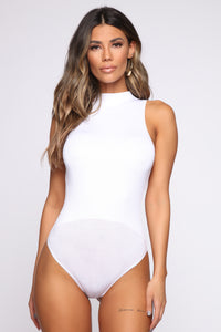 This Is My Moment Bodysuit - White