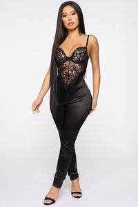 Feelings With You Jumpsuit - Black