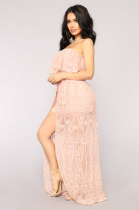 Dolores Maxi Dress - Mauve