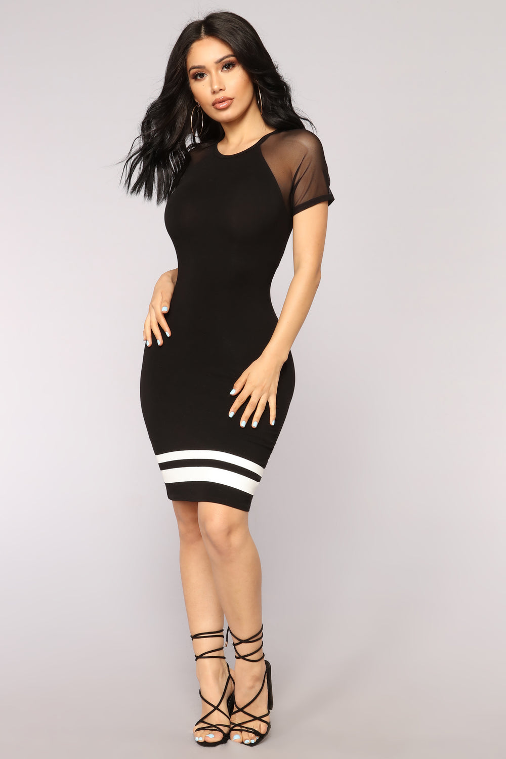 Physical Activity Dress - Black