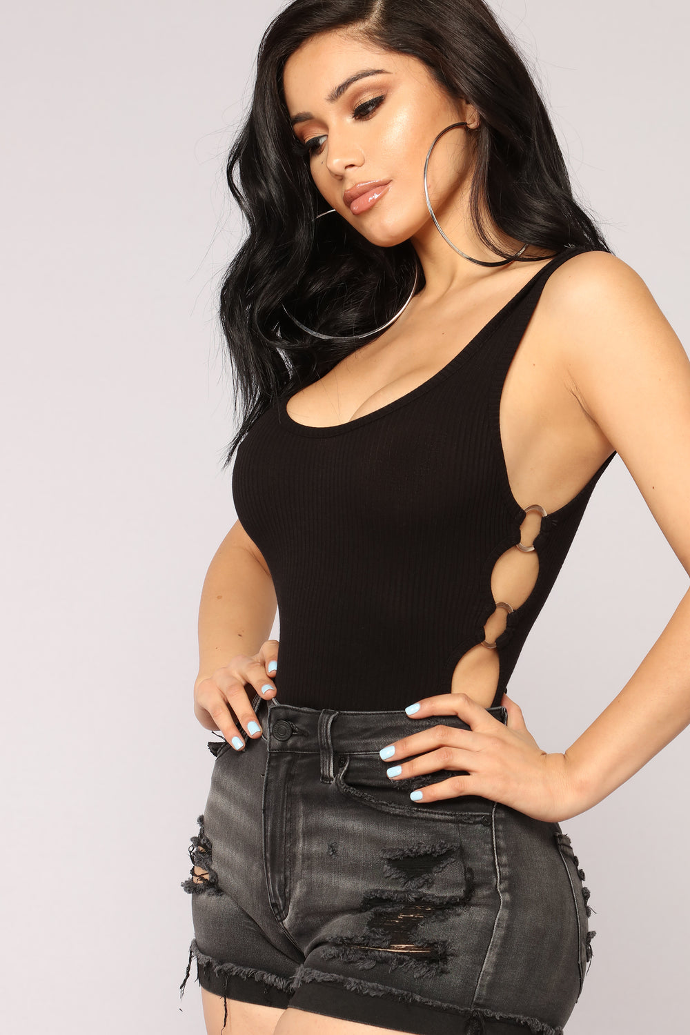 She's A Lady Bodysuit - Black