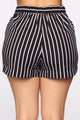 Foreign Affair Shorts - Black/White