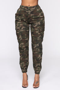 Cadet Kylie Camp Pants - Camo