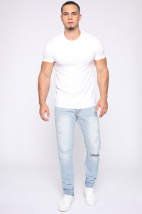 Franklin Skinny Jean - Light Wash