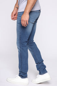 Paul Skinny Jeans - Medium Blue Wash