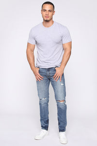 Dwight Skinny Jean - Medium Wash