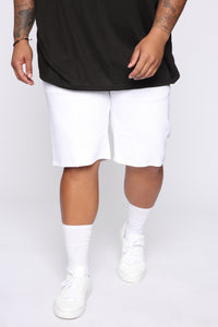 Mac Chino Short - White Angle 7