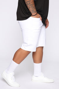 Mac Chino Short - White Angle 10