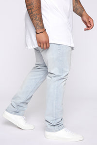 Crosby Slim Tapered Jeans - Light Fade Wash