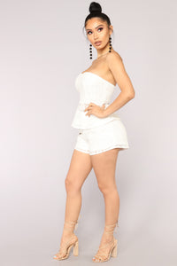 Bungalow Crochet Set - White