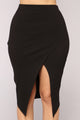 Not A Basic Babe Skirt - Black