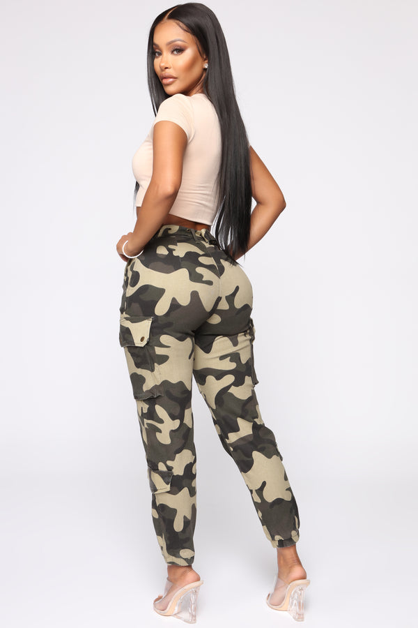 647a62f3ddd Cadet In Training Cargo Pants - Camo