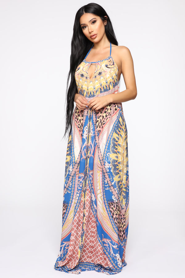 6cf32d68a5 Something About Good Weather Maxi Dress - Yellow