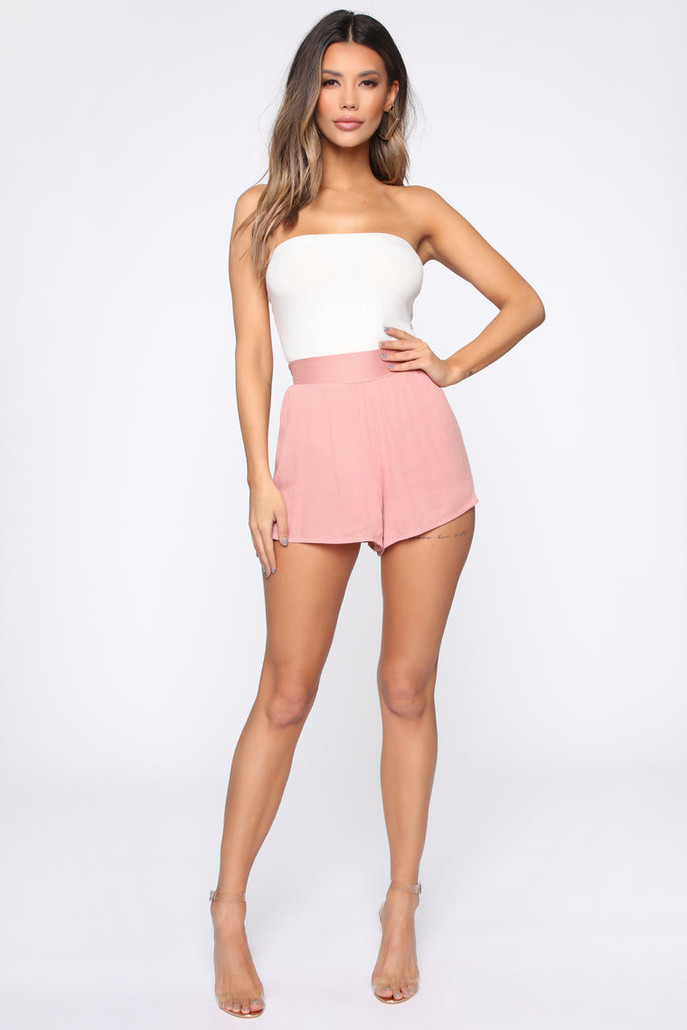 Take Me With You Shorts - Mauve