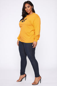 Wu Tang LS Tunic Top - Honey Angle 10