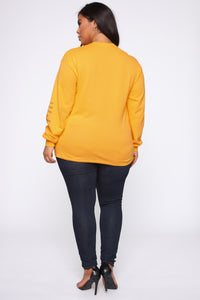 Wu Tang LS Tunic Top - Honey Angle 13