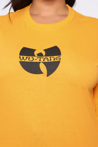 Wu Tang LS Tunic Top - Honey Angle 8