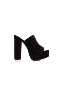 French Kisser Heel - Black