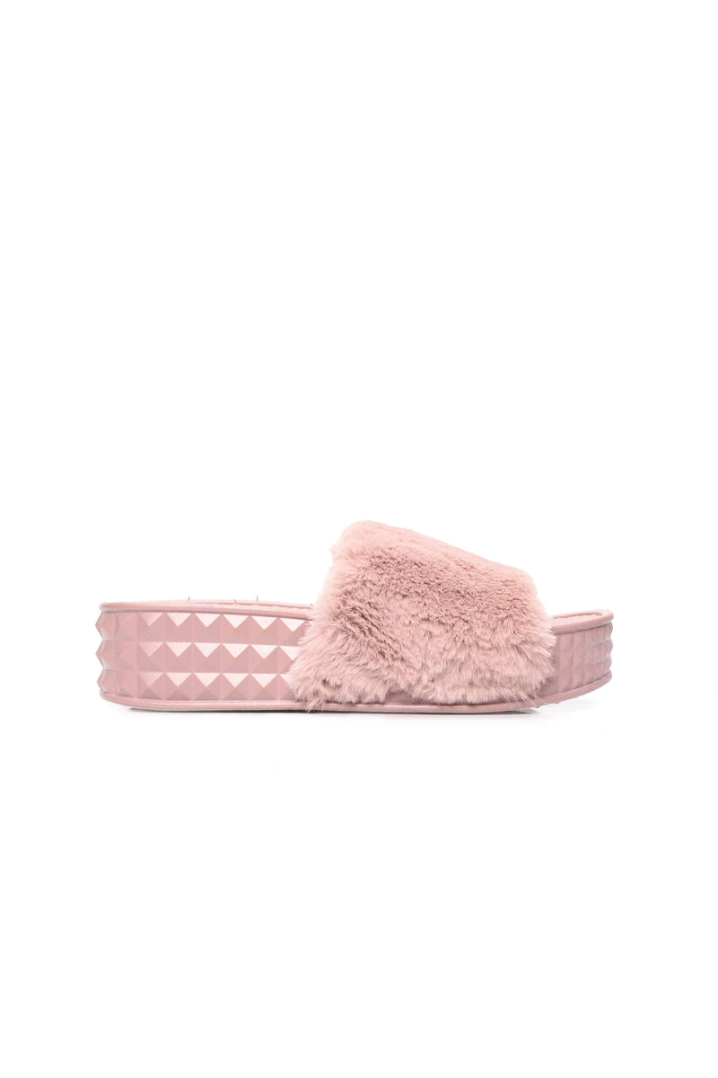 Cuddle N' Cute Slides - Mauve