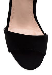 Knew This Day Would Come Wedge - Black