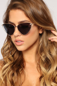 Dulce Sunglasses - Gold