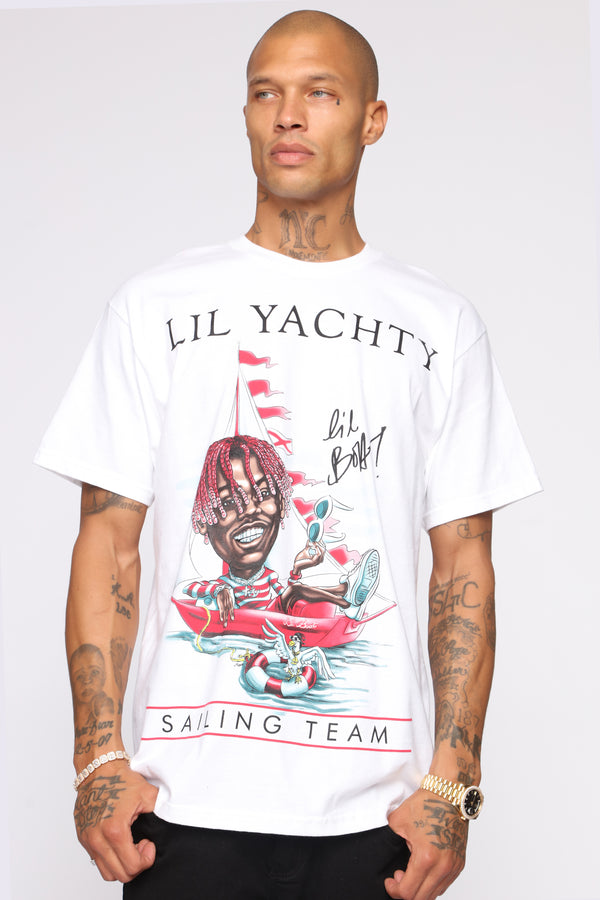 9a26ddb3a29 Lil Yachty Short Sleeve Tee - White combo