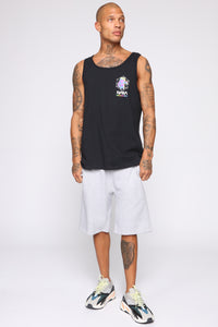Out Of This World Tank Top - Black/combo Angle 2