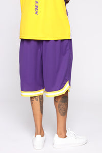 Team Shorts - Purple/combo