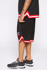 Team Shorts - Black/Red
