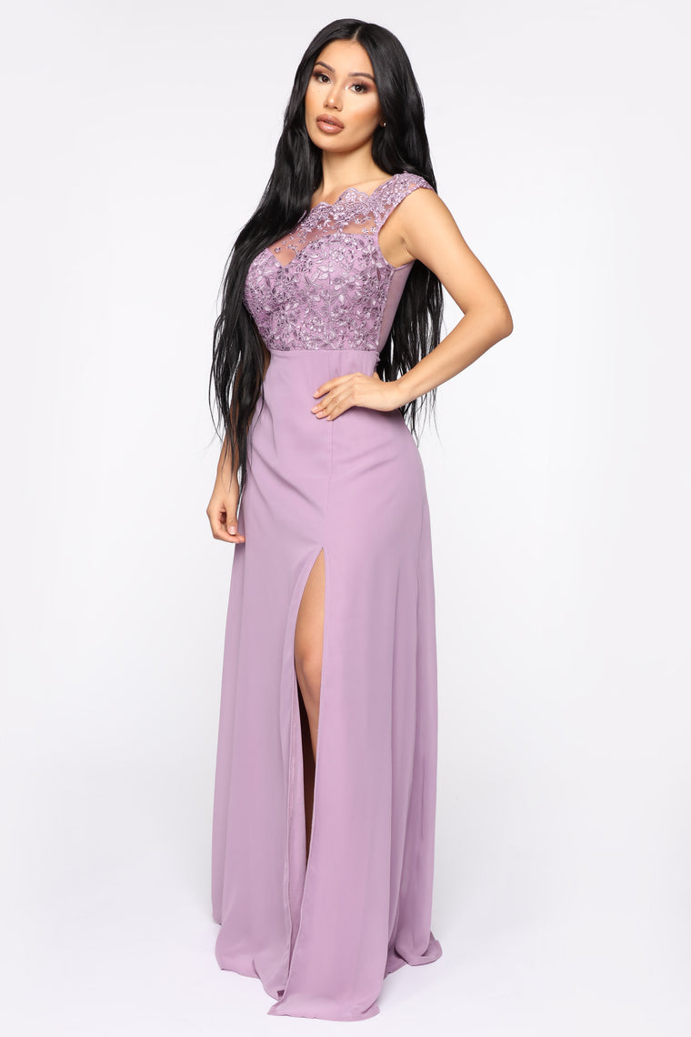 Made With Class Gown - Violet