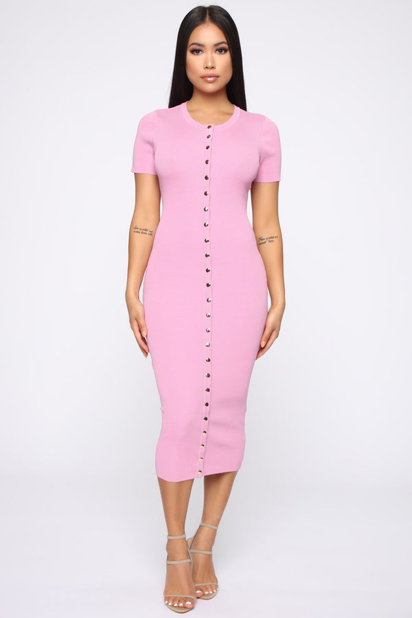 994be965a6769 Brunch and Drinks Dress - Pink