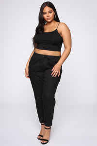 Now It's Over Jogger Pant - Black