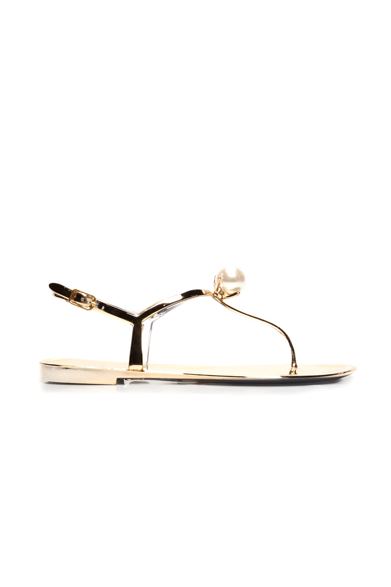 Master The Art Sandals - Gold