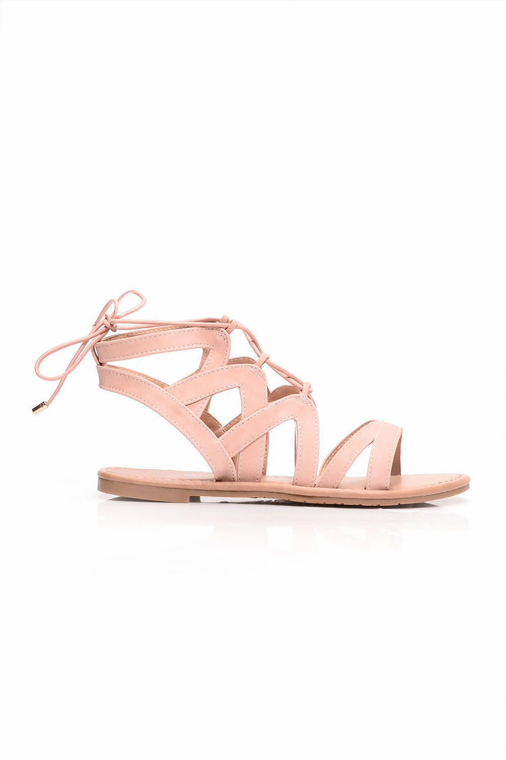 Twist It Up Sandal - Blush