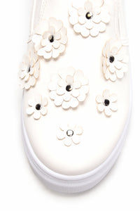 Flower Frenzy Sneaker - White