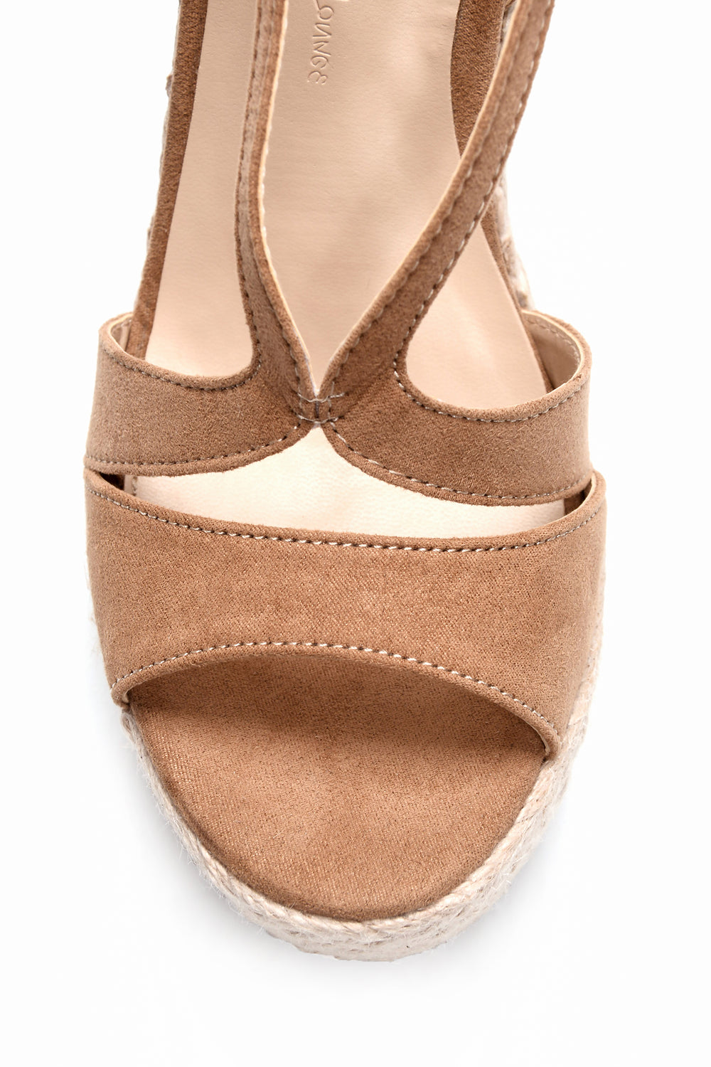 Walk Away With Me Wedge - Camel