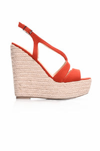 Walk Away With Me Wedge - Red