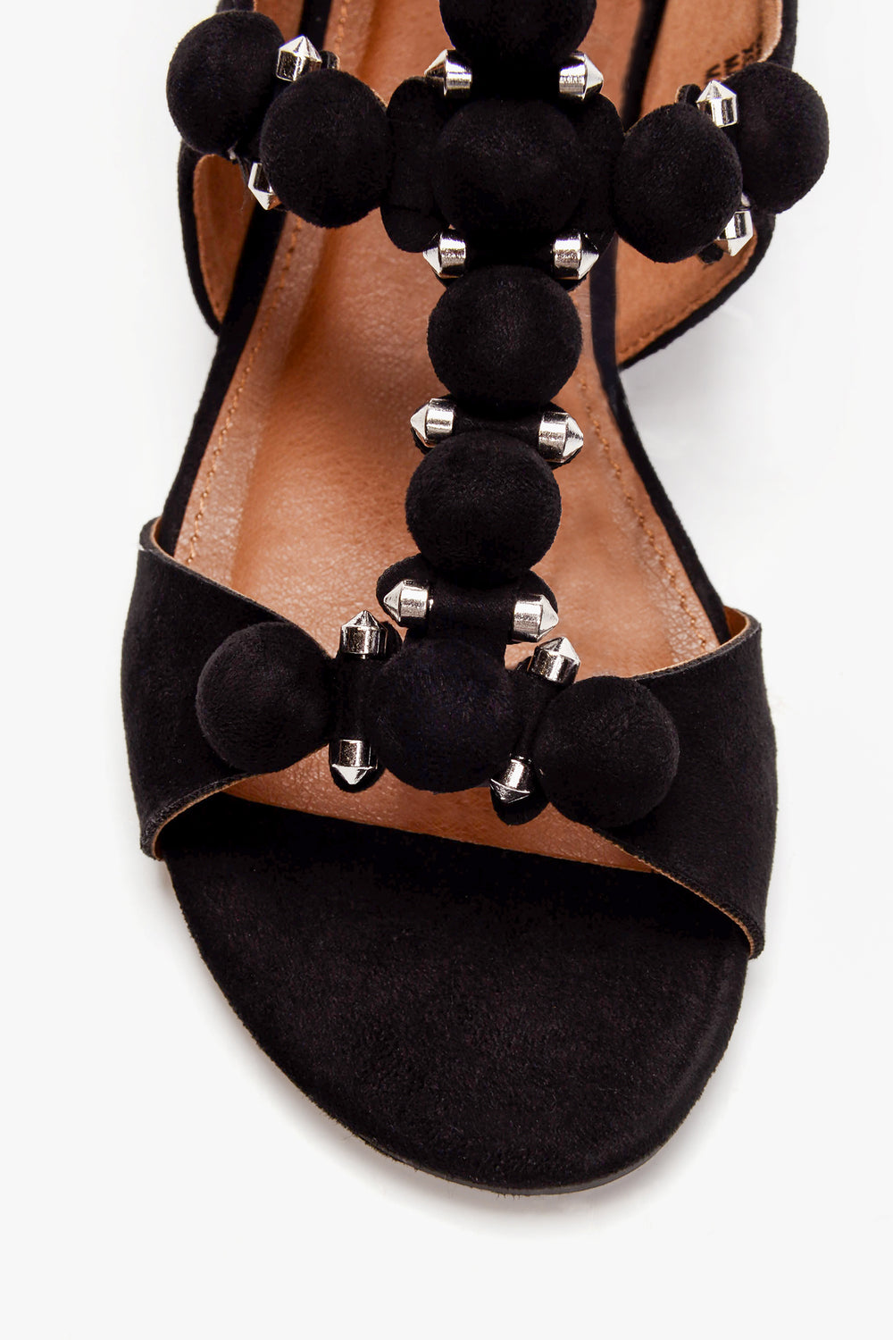 Take You Far Sandals - Black