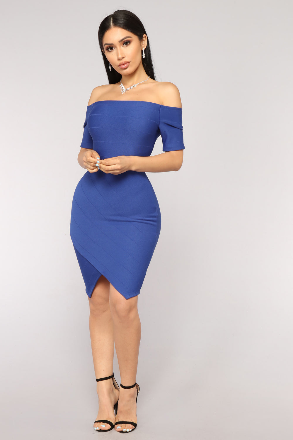 Made For You Dress - Royal