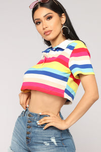 Loud And Proud Crop Top - Multi