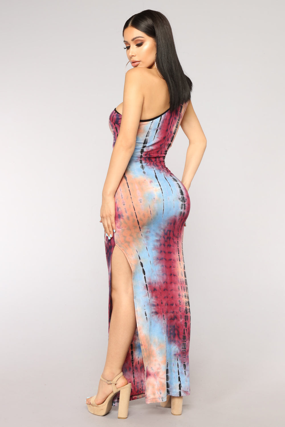 Soul Sister Tie Dye Dress - Multi