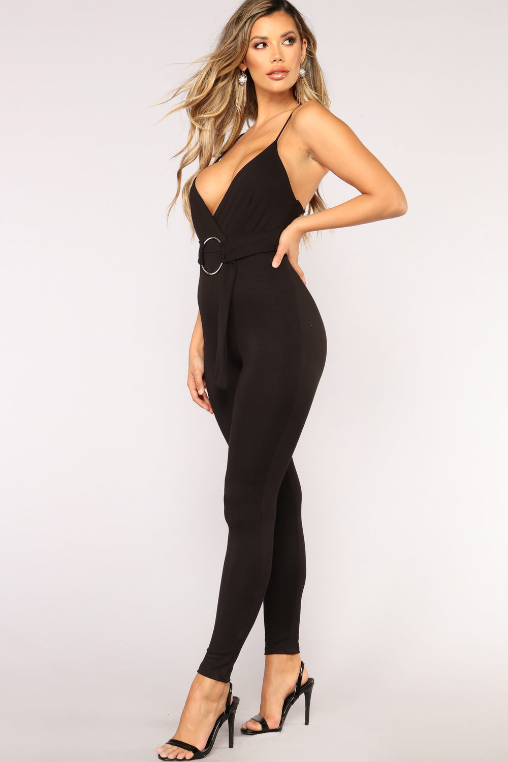 OMG O Ring Jumpsuit - Black