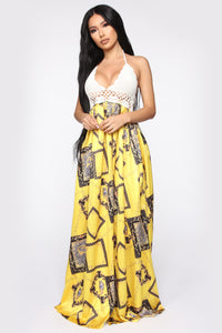 The Perfect France Maxi Dress - Yellow