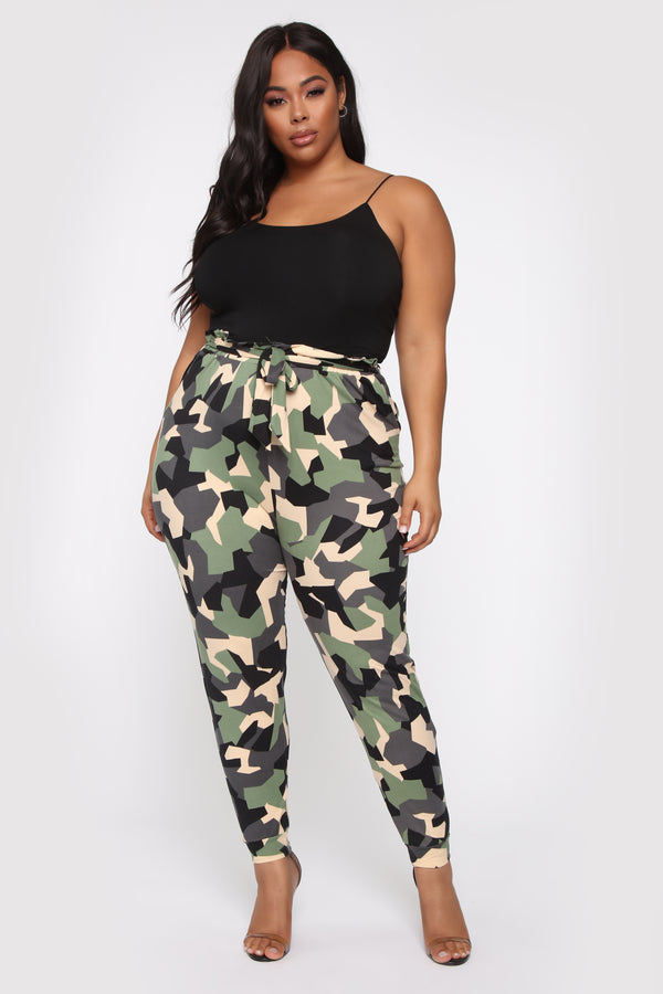 f4800a493ca48 Why The Change Paperbag Jogger - Camo
